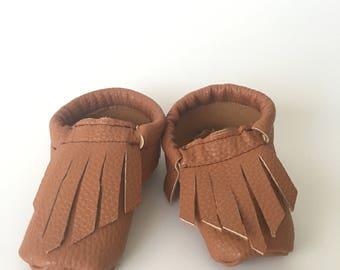 Fringe Baby Mocasins  Baby shoes  Baby Gift 