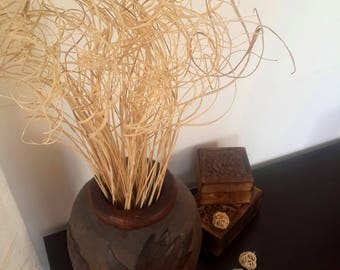 Dried Flower Bunch, Dried Flower Bouquet, Dry Bouquet, Dried Decoration, Vase Filler, Country Dried Decor, Dried Bunches of Curly Ting Ting