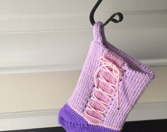 Rapunzel Inspired Holiday Stocking
