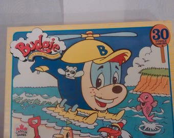 Vintage Canada Games 1996  Budgie The Little Helicopter Puzzle Complete