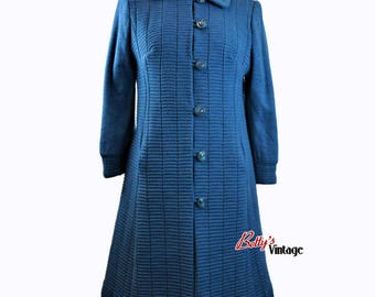Vintage 1960/1970 Ted Lapidus made in France wool coat