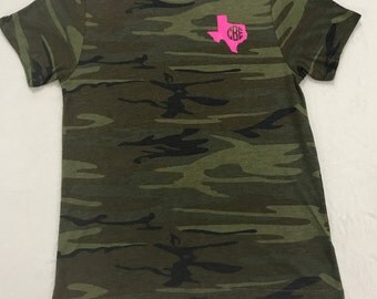 Camo Personalized Tee