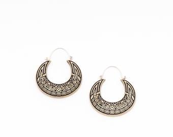The Tribal Horn Earrings