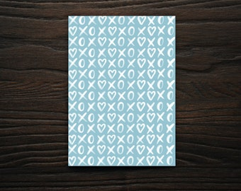 Valentine's Day Card, Greeting Cards, Snail Mail, Cards, Stationary, XOXO