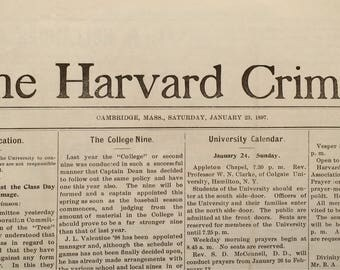 The Harvard Crimson 1897