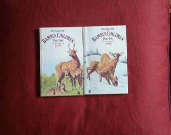 Felix Salten - Bambi's Children part One & Two (Dragon Books 1979)