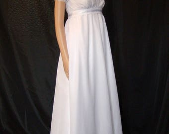 Historical vintage wedding dress 1 Empire and Regency
