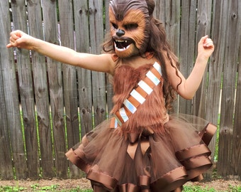 FREE SHIPPING Star Wars Chewbacca Cosplay, Chewbacca tutu, Chewbacca shirt, Chewbacca costume, Chewbacca Outfit