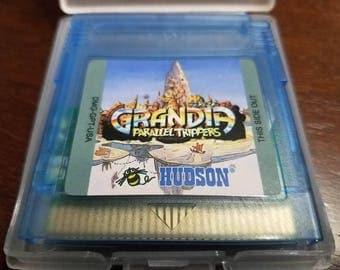 Grandia Parallel Trippers - Custom GBC  Gameboy Color - English Translation