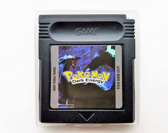 Pokemon Dark Energy Version GameBoy Color GBC / GBA Custom Fan Hack Homebrew - US Seller