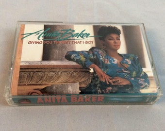 Anita Baker - Giving You The Best That I Got - Vintage Cassette Tape