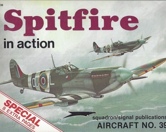 Spitfire in Action - Aircraft No. 39 (Paperback)