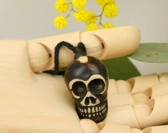 Skull pendant - locket Death