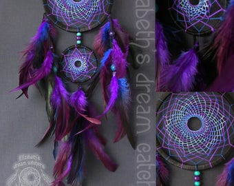 dream catcher dreamcatcher blue dreamcatcher purple dreamcatchers wall hanging Feather Dreamcatcher Gift dreamcatchers wall Boho style