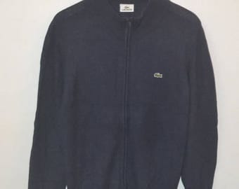 Vintage 80s 90s Lacoste Zipper Jacket