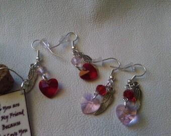Valentines Earrings set