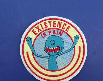 Rick and Morty patch, Mr. Meeseeks patch