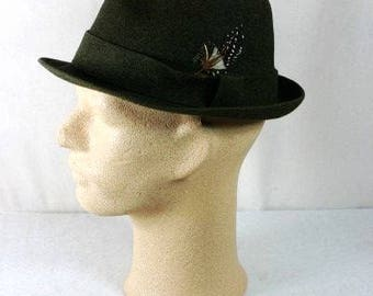 Vintage Borsalino Hat Vintage Italian Mens Hat Beautiful Hat For Men Borsalino Hat Italian Borsalino Hat