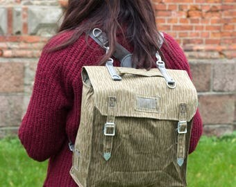 Canvas Backpack, Backpack, Military Backpack, Military Bag, Army Backpack, Rucksack, Military Satchel Backpack, Haversack, Hipster Backpack