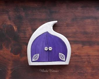 Fairy Door - Gentle Fairy, Handmade Solid Wood Fairy Door, Unique Gift, Wall Decor