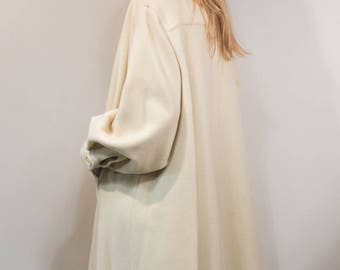 Vintage wool/Cashmere coat '90 by Ferre' Cod 12-02
