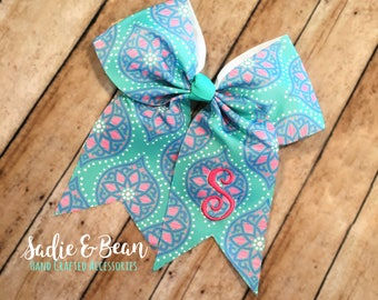 Monogrammed Bows, personalized bows, preppy bows, large bows, hair bows, personalized, seersucker bow, Christmas bow, chambray bow, birthday