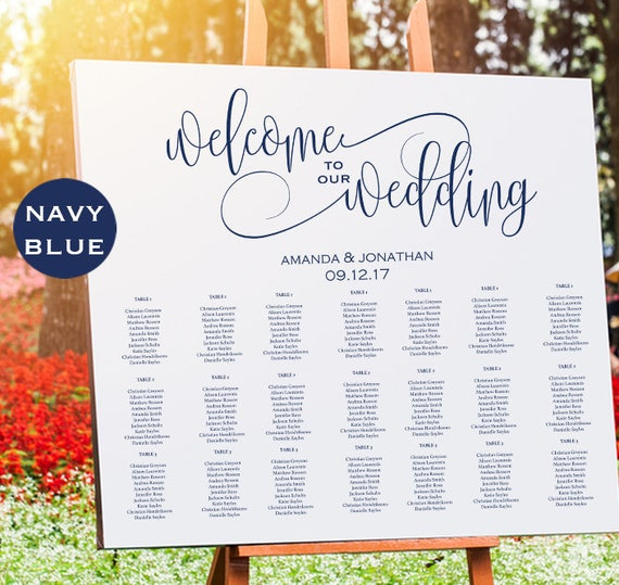 Welcome To Our Wedding Printable