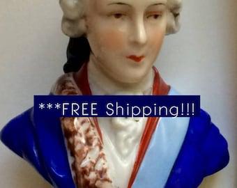 Bonnie Prince Charlie Bust Figurine! Swanky!! **** FREE SHIPPING****