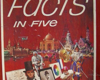 1976, Facts in Five, The Game of Knowledge by The Avalon Hill Game Co.