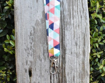 Triangle lanyard | badge holder