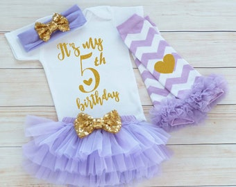 Fifth Birthday Girl Outfit, 5th Birthday Girl Shirt, 5th Birthday Outfit, Birthday Girl Gift, Fifth Birthday Girl, 5th Birthday Girl Shirt