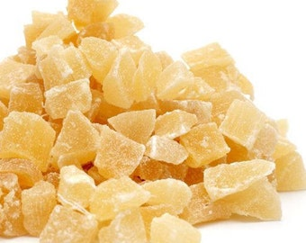 dried PINEAPPLE, 100g/3.53oz, organic