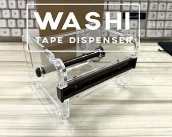 1x Washi Tape Dispenser Storage Case / Masking Tape Organizer / Tape Holder / Tape Cutter / Tape Dispenser
