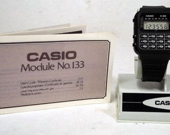 Casio C-80 with Instructions  Module 133 Calculator  Watch