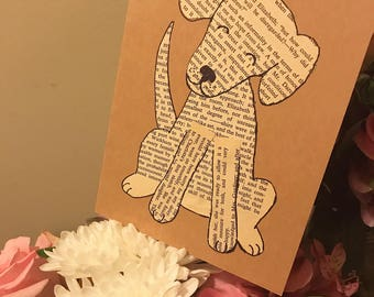 You're Pup-ular: Dog / puppy / pup / doggo / pupper / handmade card