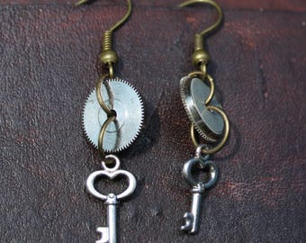 Steampunk Statement Earrings