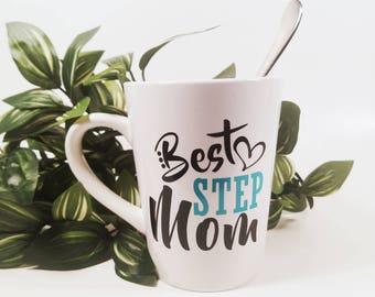 Best Step Mom | Step Mom | Bonus Mom | Gift for Step Mom | Gift for Bonus Mom | Mom Birthday Gift | Gift for Mom | Stepmom |Gift for Stepmom
