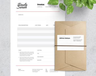 Example Of An Invoice For Payment Word Invoice  Etsy What Are Gross Receipts For A Business Excel with Shoebox Receipt Excel Invoice Template  Receipt Template  Format Photoshop And Ms Word Invoice Forms Pdf Word
