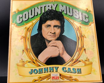 JOHNNY CASH VINYL Record - Country Music - Rare / Amazing Condition - Great Gift!