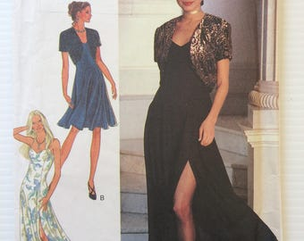 Vintage Style dress and bolero sewing pattern 2538 - size 6-12