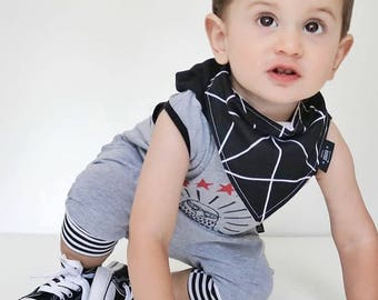 Baby bibdana, bib, 100% cotton, baby shower, gift, geometric pattern, bandana bib, dribble bib, baby girl, baby boy, toddler, drool bib,