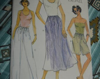 Voge 7294 Koko Beall Misses Skirt Shorts and Pants Sewing Pattern - UNCUT - Size 20 22 24