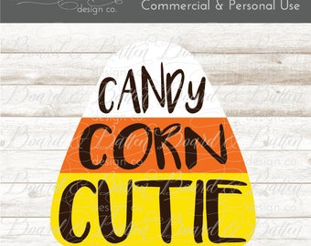 Candy Corn Cutie Svg File - Halloween Dxf Files - Candy Corn Svg File - Halloween Svg Files for Cricut - Silhouette Cameo Files - Eps Png