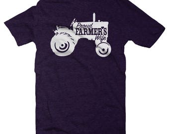 Farmer Wife, Farmer Wife Shirt, Farm Wife, Farmer Shirt, Farm Wife Shirt, Tractor Shirt, Wife Shirt, Farm Wife Tee, Farm Girl Gifts