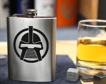 Cylon - Stainless Steel Hip Flask