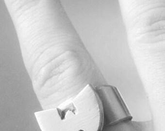Stainless steel ring wu tang clan