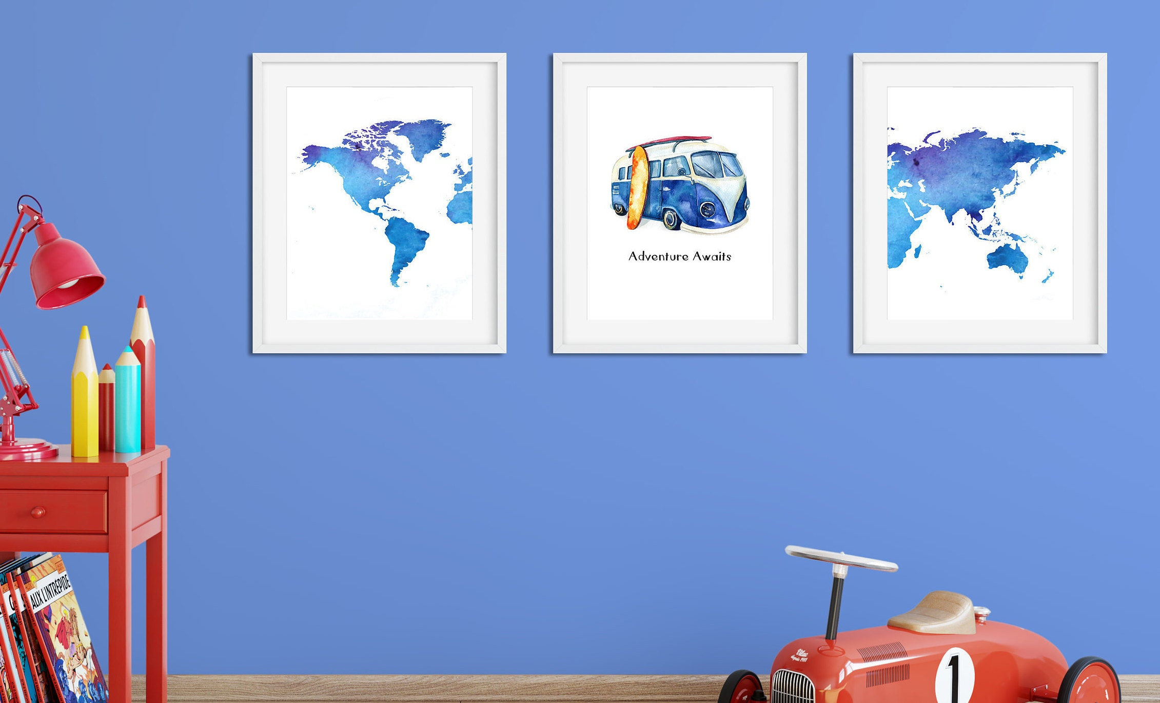 Vw van nursery print download adventure awaits with world map baby vw van nursery print download adventure awaits with world map baby shower gift gumiabroncs Image collections