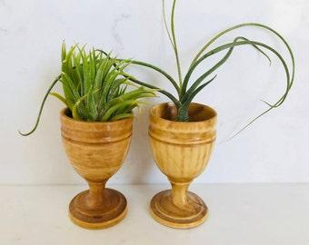 Mini Wood Cups