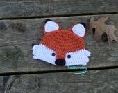 Fox Hat//Baby Fox Hat//Woodland Creature Hat