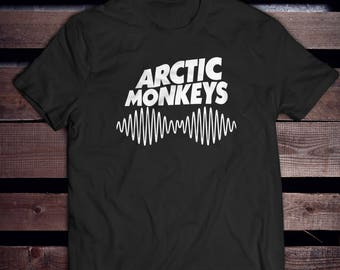 Arctic monkeys shirt AM Soundwave t shirt Music band T-shirts Death Ramps T-Shirt Alex turner Unisex t shirt